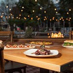 Outdoor patio dining