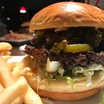 The jalapeno popper burger
