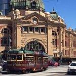 The heart of Melbourne : Flinders Street Station