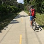 Biking to Sands Beach in Port Royal