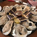 The best oysters I've ever had