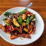 Asian Stir Fry with Sea Food--WHAHOO!!!