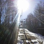 Up the chairlift