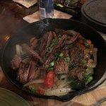 Steak Skillet Seared ajitas