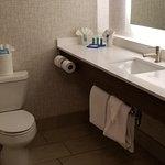 Very Pristine bathroom. Body Works amenities