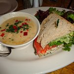 Soup, Salad and 1/2 Sandwich