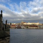 Prague in amazing winter weather. It is cold, but still perfect time for exploring the city :)