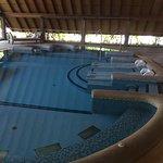 Hydro spa area