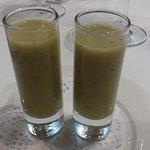 Crema de verduras, aperitivo