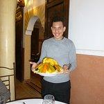 délicieux couscous fait maison servi par le merveilleux Abdel