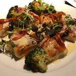 Gnocchi and broccoli