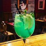 Le cocktail menthe des Flambeaux