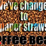 We've changed to paper straws!