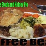 Homemade Steak & Kidney Pie