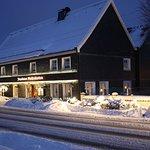 Jagdhaus Mollenkotten im Winter