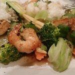Black Pepper & Garlic with Shrimp...yum
