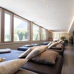 Einer der vielen Ruheräume im 3500 m² Wellnessbreich
