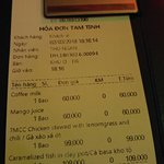 Most horrible chicken dish i have ever tasted in Vietnam. DO NOT GO. Ordered a hot coffee with m