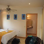 Our room, the Pura Vida.