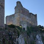 Castle near riverside