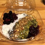 Yoghurt, fruit and grains - yum