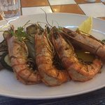 My king sized prawns
