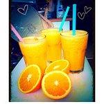 love that fresh orange juice