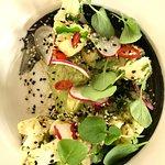 cauliflower | black sesame