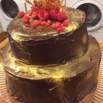 Every laundrette needs some spectacular cake.