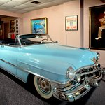 The 1952 Cadillac convertible that Hank Williams died in 1/1/1953. The Museum houses the Caddy.