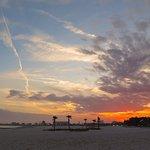"Jones Park, Gulfport, MS - Sunset on Park from ""Crescent Beach"""