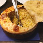 And the biriyani came from here