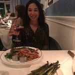 She loved the Tuna Tartare not in photo. Peppercorn & bernaise
