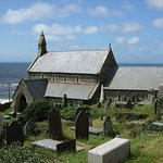 St Mary's Church Llanaber from the Churchyard