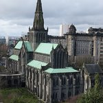 View of Glasgow Catherdral from Necropolis