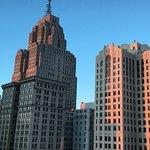 Vue du 20e étage côté ville