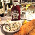 "Mary Mahoney's Old French House, Biloxi, MS - Fried Flounder w/ ""extras"""