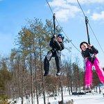 Bigfoot BigFUN Ziplines! Come hang out with us. 7 ziplines, 2 hour tour with Great Sky Rangers.