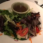 gumbo and house salad