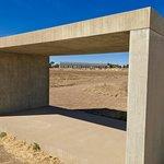 Cement sculpture.