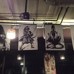 Samurai Posters! - large ones suspended high