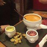 soupe du jour (tomate ce jour là)