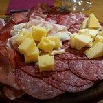 Salume e formaggio