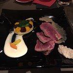 superbe soirée avec comme plat principal une côte de bœuf 🐂. L'accueil est toujours aussi sympa