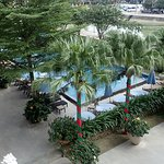 Pool from room balcony