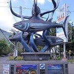 Cakalang Statue