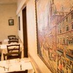 La vera cucina romana a Piazza Navona .