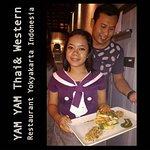 "The ""Tropical Sunburn"" one of the signature dishes from YAM YAM Thai & Western Restaurant Yogyak"