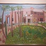toile représentant le musée