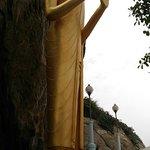 ภาพถ่ายของ พระพุทธรูปปางห้ามสมุทร